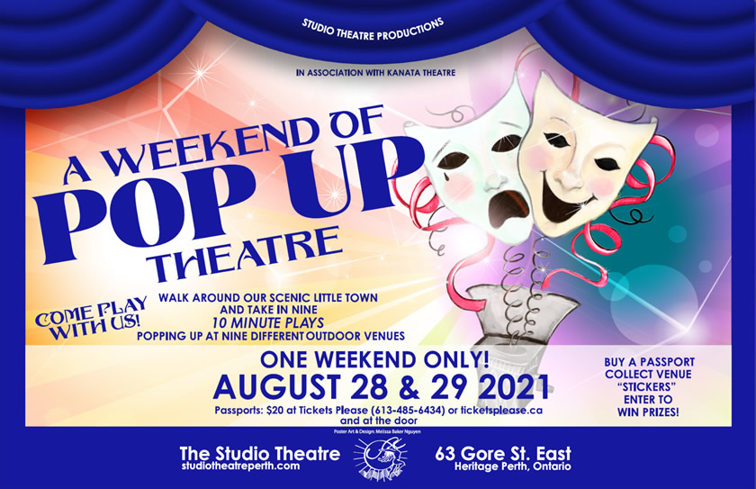A Weekend of Pop Up Theatre